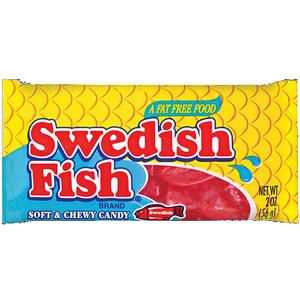 Swedish Fish, 2.0 oz. Bag (24 Count)
