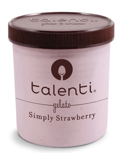 Talenti, Simply Strawberry, Gelato, Pint (1 Count)