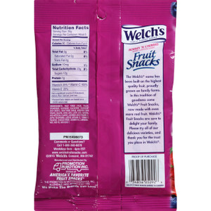 Welch's Berries and Cherries Fruit Snack, 5 oz. Bag (1 Count)