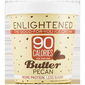 Enlightened, Butter Pecan Ice Cream, Pint (1 Count)