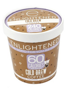 Enlightened, Cold Brew Coffee Ice Cream, Pint (1 Count)