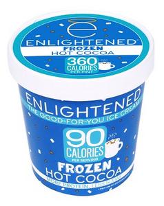 Enlightened, Frozen Hot Cocoa Ice Cream, Pint (1 Count)