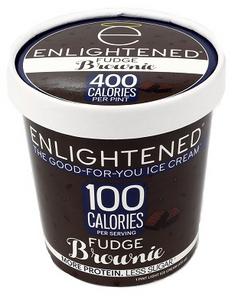 Enlightened, Fudge Brownie Ice Cream, Pint (1 Count)
