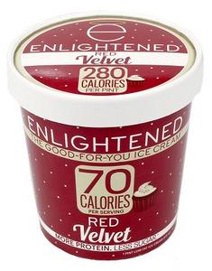 Enlightened, Red Velvet Ice Cream, Pint (1 Count)