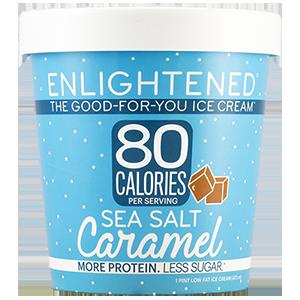 Enlightened, Sea Salt Caramel Ice Cream, Pint (1 Count)