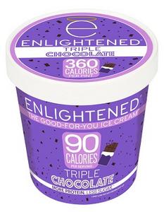Enlightened, Triple Chocolate Ice Cream, Pint (1 Count)