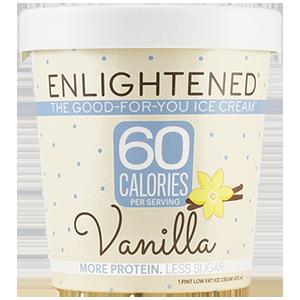 Enlightened, Vanilla, Pint (1 Count)