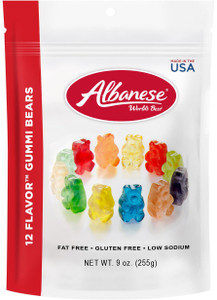 Albanese, 12-Flavor Gummies, 9.0 oz. Peg Bag (1 Count)