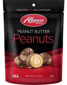 Albanese, Peanut Butter Dipped Peanuts, 6.0 oz. (1 Count)