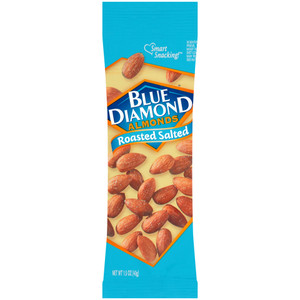 Blue Diamond, Roasted & Salted Almonds, 1.5 oz. (12 Count)