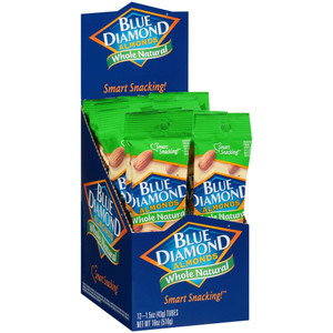 Blue Diamond, Whole Natural Almonds, 1.5 oz. (12 Count)