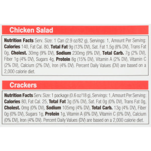 Bumble Bee, Chicken Salad with Crackers, 3.5 oz. (1 Count)