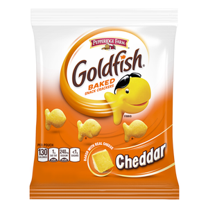 Goldfish, Cheddar Cheese, 1.50 oz. Bag (30 Count)