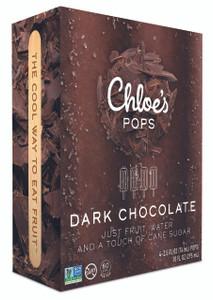 Chloe's Pops, Dark Chocolate, 2.5 oz. (4 Count)