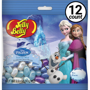 Jelly Belly, Disney Frozen, 2.8 oz. Bag (12 Count)