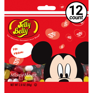 Jelly Belly, Mickey Mouse, 2.8 oz. Bag (12 Count)