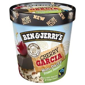 Ben & Jerry's NON-DAIRY Cherry Garcia Ice Cream, Pint (1 Count)