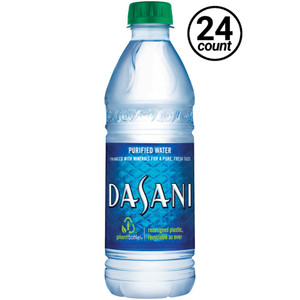 Dasani Water, 16.9 Oz/500 ML Plastic Bottle (24 Count)