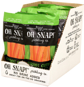 Oh Snap! Pickling Co., Carrot Cuties, 2.25 oz. (12 Count)