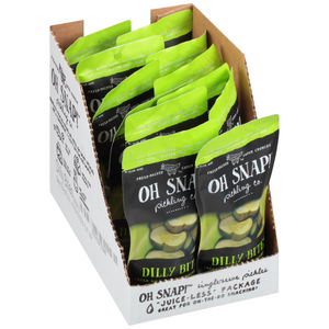 Oh Snap! Pickling Co., Dilly Bites, 3.50 oz. (12 Count)