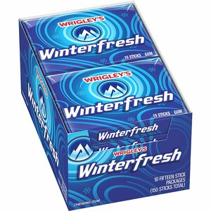 Wrigley's  Winterfresh, 15 Pieces Gum (10 count)