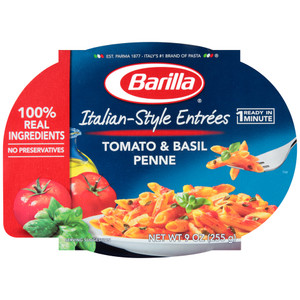 Barilla, Italian Entrees, Tomato & Basil Sauce, 9.0 oz. Bowl (1 Count)