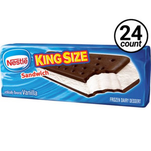 Nestle Vanilla Ice Cream Sandwich, 6 oz. (24 count)