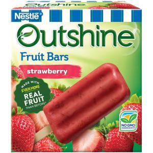 Outshine Strawberry Frozen Fruit Bars, 4 oz (24 count)