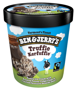 Ben & Jerry's, Truffle Kefuffle Ice Cream, Pint (1 Count)