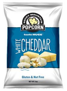 Rocky Mountain Popcorn, White Cheddar, 3.0 oz. bag (1 count)