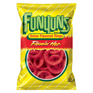 Funyuns Flaming Hot, 1.25 oz bag (1 count)