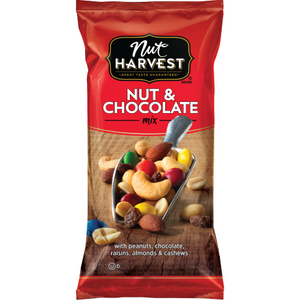 Nut Harvest  Nut & Chocolate 3.0 oz bag (1 count)