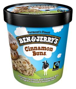 Ben & Jerry's, Cinnamon Buns Ice Cream, Pint (1 Count)