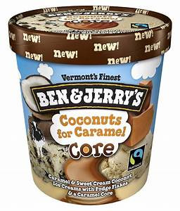 Ben & Jerry's, Coconuts For Caramel Core, Pint (1 Count)
