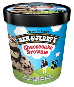 Ben & Jerry's, Cheesecake Brownie Ice Cream, Pint (1 Count)