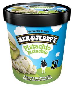 Ben & Jerry's, Pistachio Pistachio Ice Cream, Pint (1 Count)
