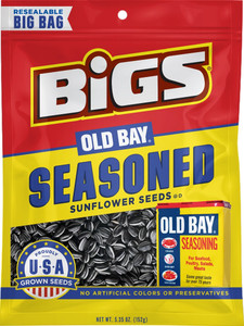 BIGS, Old Bay Seasoned Sunflower Seeds, 5.35 oz. Bag (1 Count)