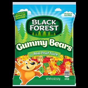 Black Forest, Gummy Bears, 4.5 oz. Bag (1 Count)