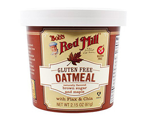 Bob's Red Mill, Maple Brown Sugar Oatmeal, 2.15 oz. Cup (1 Count)