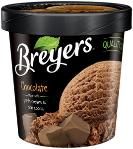 Breyer's, Chocolate All Natural, Ice Cream, Pint (1 Count)