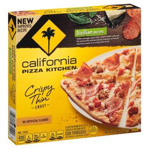 California Pizza Kitchen, Sicilian Pizza, Thin Crust, 6.5 Inch (1 Count)