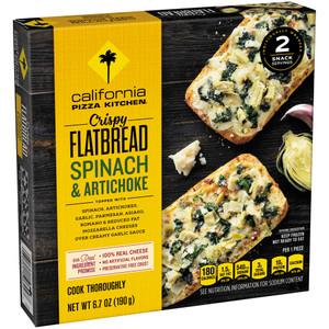 California Pizza Kitchen, Spinach & Artichoke, Crispy Flatbread, 6.7 oz. (1 Count)