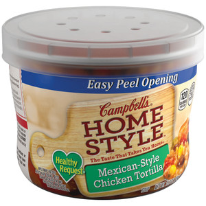 Campbell's, Select Harvest, Mexican Style Chicken Tortilla, 15.3 oz. Microwavable Bowl (1 Count)