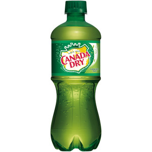 Canada Dry, Ginger Ale 20.0 oz. Bottle (1 Count)