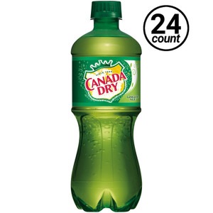 Canada Dry, Ginger Ale 20.0 oz. Bottle (24 Count)