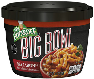 Chef Boyardee, Big Bowl Beefaroni, 14 oz. Microwavable Bowl (1 Count)