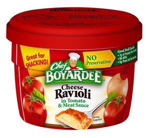 Chef Boyardee, Cheese Ravioli, 7.5 oz. Microwavable Bowl (1 Count)