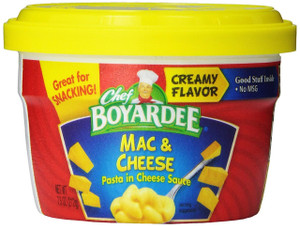 Chef Boyardee, Mac & Cheese, 7.5 oz. Microwavable Bowl (1 Count)