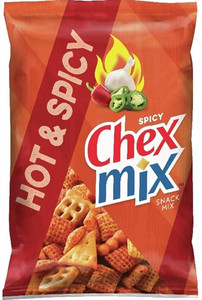 Chex Mix, Hot & Spicy, 3.75 oz. Bag (1 Count)