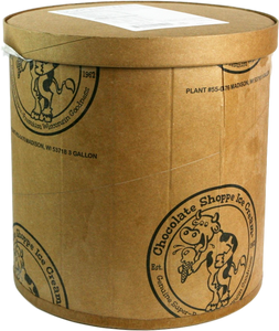 Chocolate Shoppe, Old Fashioned Vanilla Ice Cream, 3 Gallons (1 Count)